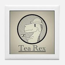 Tea Rex Tile Coaster