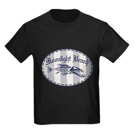Moonlight Beach Bonefish Kids Dark T-Shirt