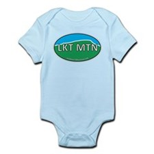 Lookout Mountain GA Green & Blue Euro Infant Bodys