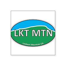 Lookout Mountain GA Green & Blue Euro Square Stick