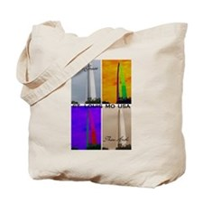 How Great Thou Arch St. Louis Tote Bag