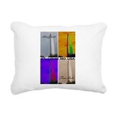 How Great Thou Arch St. Louis Rectangular Canvas P