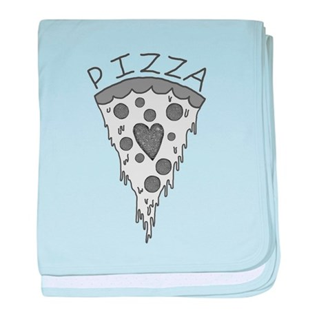 Pizza Lover 2 baby blanket