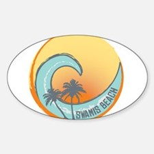 Swamis Beach Sunset Crest Decal