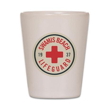 Swamis Lifeguard Badge Shot Glass