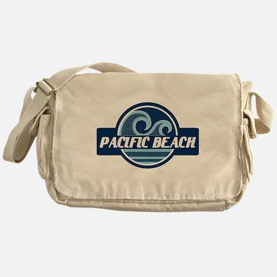 Pacific Beach Surfer Pride Messenger Bag