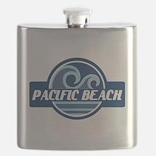 Pacific Beach Surfer Pride Flask