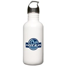 Pacific Beach Surfer Pride Water Bottle