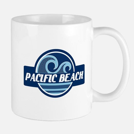 Pacific Beach Surfer Pride Mug