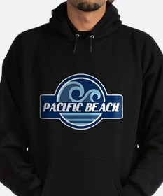 Pacific Beach Surfer Pride Hoodie (dark)
