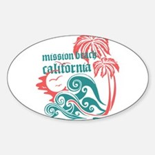 Wavefront Mission Beach Decal