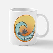Mission Beach Sunset Crest Mug