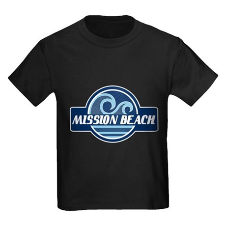 Mission Beach Surfer Pride Kids Dark T-Shirt