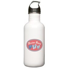 Mission Beach Sandal Badge Water Bottle