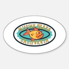 Mission Beach Gearfish Patch Decal