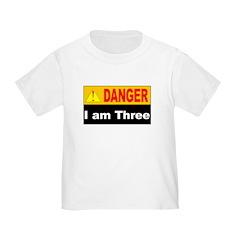 Dangerous 3 year old T