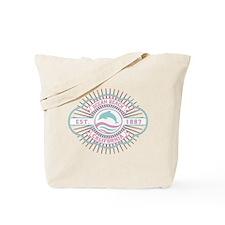 Ocean Beach Dolphin Crest Tote Bag