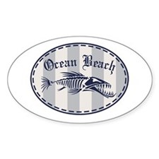 Ocean Beach Bonefish Decal