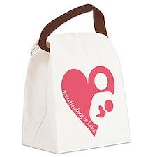 Breastfeeding is Love Canvas Lunch Bag