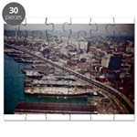 Puzzle: 1962 Seattle Shoreline, Space Needle