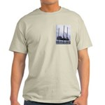 Men's T With Jack-up Barge