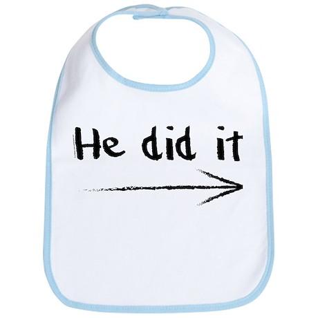 He did it! Bib