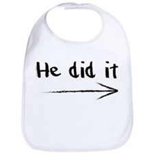 He did it! Bib