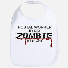 Postal Worker Zombie Bib