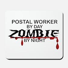 Postal Worker Zombie Mousepad
