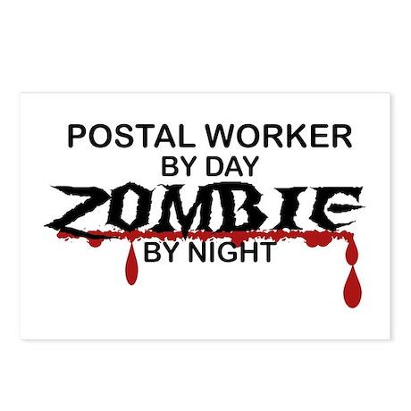 Postal Worker Zombie Postcards (Package of 8)