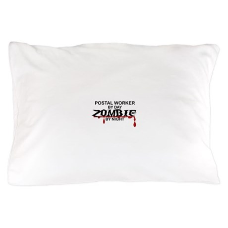 Postal Worker Zombie Pillow Case