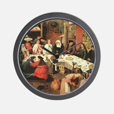 Marriage Feast At Cana Wall Clock