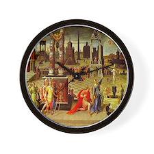 Augustus & The Sibyl Wall Clock