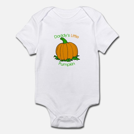 Daddy's Little Pumpkin Infant Creeper