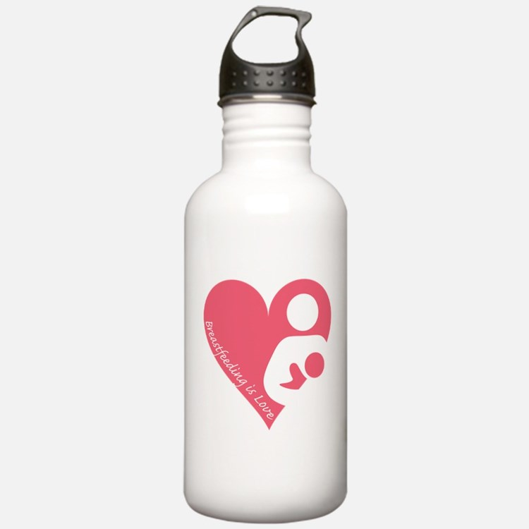Breastfeeding is Love Water Bottle