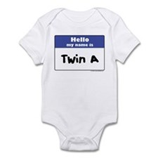 Hello, I'm Twin A Infant Creeper