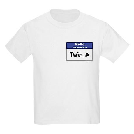 Hello, I'm Twin A Kids T-Shirt