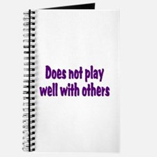 Unique Play with others Journal