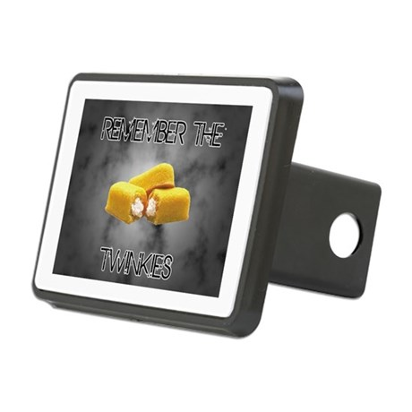 Remember The Twinkies Rectangular Hitch Cover