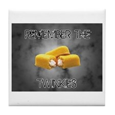 Remember The Twinkies Tile Coaster