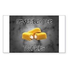 Remember The Twinkies Decal