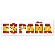 Spain Bumper Bumper Sticker