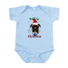 Merry Christmas-Santa Boxer Trans.png Infant Bodys