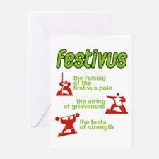 festivusw Greeting Cards