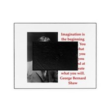 george bernard shaw quote Picture Frame