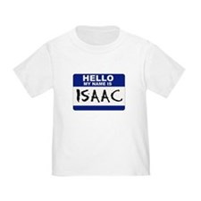 Hello My Name Is Isaac - T