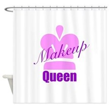 Makeup Queen Shower Curtain