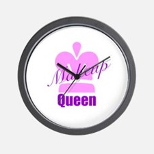 Makeup Queen Wall Clock