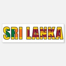 Sri Lanka Bumper Bumper Bumper Sticker