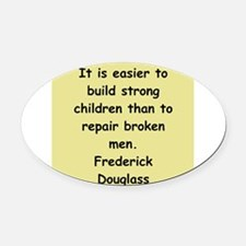 fred116.png Oval Car Magnet